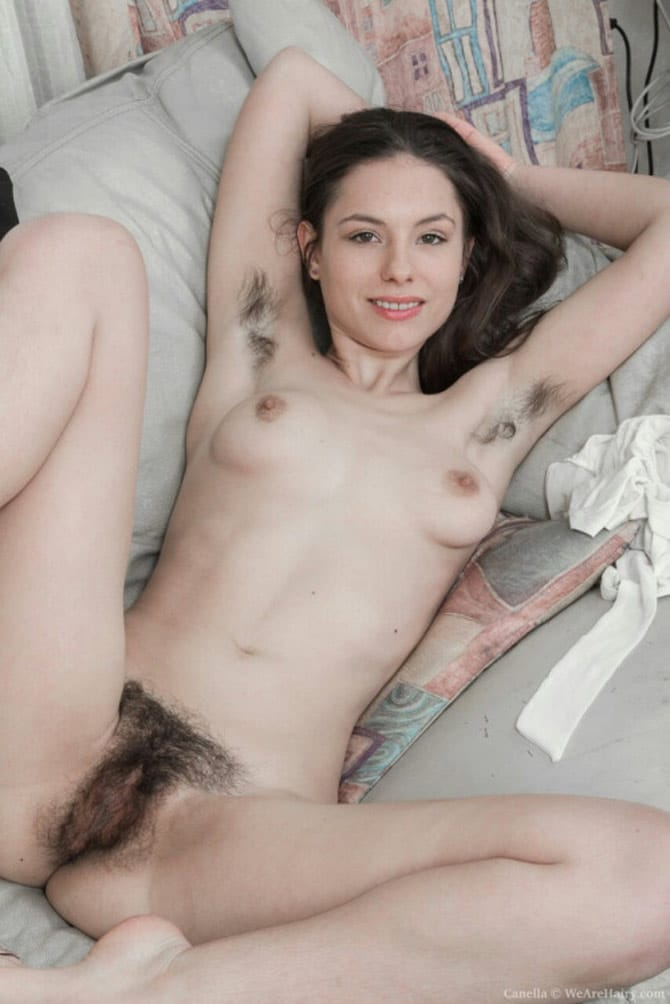 titless girls with hairy pussies