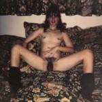 Photo de Valérie, brune maigre ultra-poilue vintage
