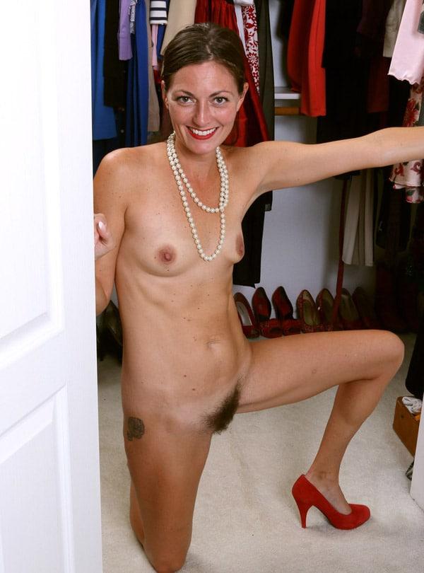Femme mature poilue